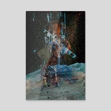 STP Screen Transfer Process - 0154 - Faith Capacitance 4 - Acrylic by Wetdryvac WDV
