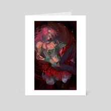 crimson - Art Card by shonocondo