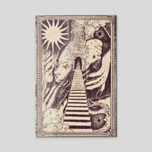 Janus - Acrylic by Chloe Zorn