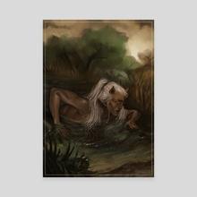 dark horse - Canvas by harteus
