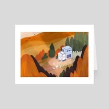 Autumn Breeze - Art Card by Cindy Kang