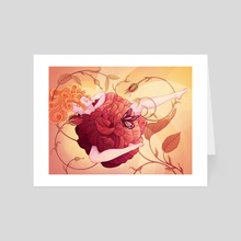 In Bloom - Art Card by Hannah Agosta