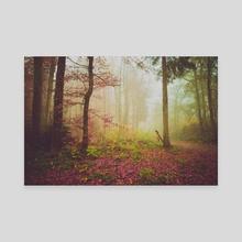 dreamy autumn - Canvas by Adrian Limani
