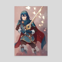 Lucina - Canvas by Amy Gerardy