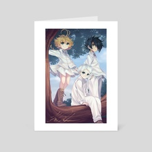 The Promised Neverland - Art Card by Kim