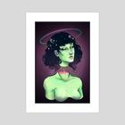 Lovely Scum - Art Print by Viktoria Dekay