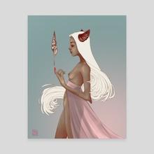 Seashell - Canvas by Tereza Grollmusová