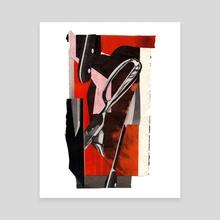 beneath the blade - Canvas by allison anne