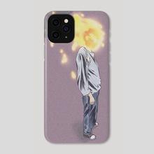 combust - Phone Case by Linn .