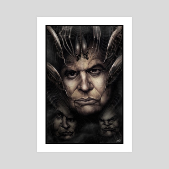 H.R. Giger by Rafael Rivera