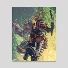 Deathstroke 2 - Acrylic by Jose  Real