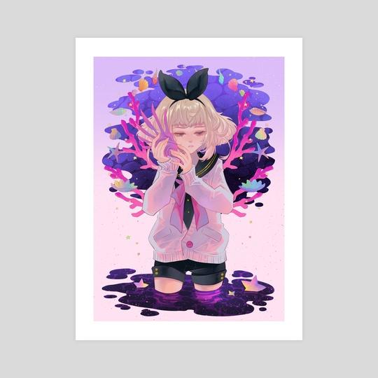 memory in a seashell by Luluko .