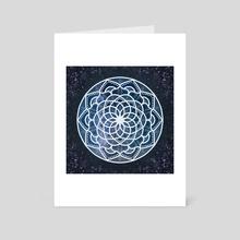 Galaxy Mandala - Art Card by Violet Garden