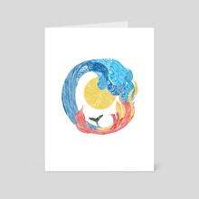 Elemental Dance - Art Card by Jing Jing Tsong