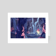 Enchanted Forest - Art Card by Bailie Rosenlund