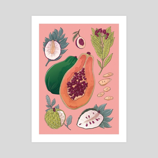 Childhood Fruit and Spices by Stephanie Singleton