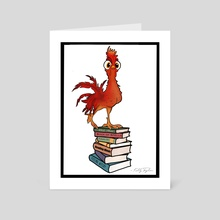 Chicken Wizard - Art Card by Kelly Taylor