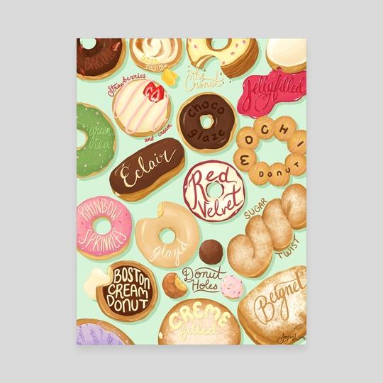 Donuts! by Soojin Lim