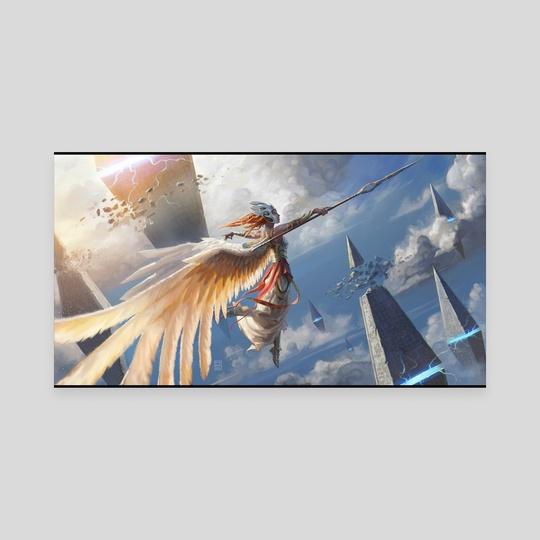 Angel of Destruction by Hugh Pindur