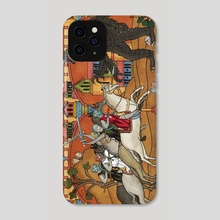 Terrible Creature - Phone Case by Robert Altbauer