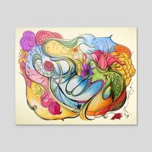 Spring Awakening - Acrylic by Hannah Maria