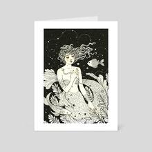 Lagrimas de Sereia - Art Card by Janaina Medeiros