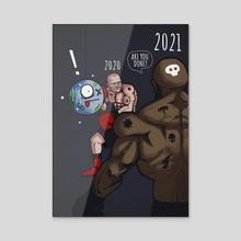 2021 - Acrylic by Mashz