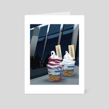 Sundaes in Sumida - Art Card by Meg Metzger