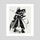 Sword Sage - Art Print by John Poh