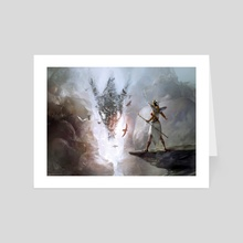 Interpret the Signs - Art Card by Cynthia Sheppard