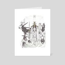 Paris Division: Agnes la blanche - Art Card by xin illus