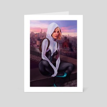 Spider Gwen - Art Card by Facundo Alberto Morello