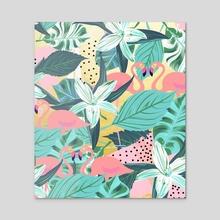 Flamingo Tropical - Acrylic by 83 Oranges