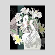 Grace and Dignity - Canvas by Akiko Fukuda