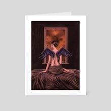 scarecrow  - Art Card by Zach Meyer