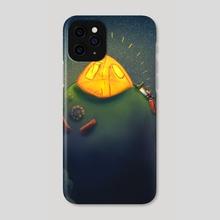 Escapsim - Phone Case by Quyncc Johnson Art