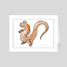 Chinese Giant Salamander II - Art Card by Charli Vince