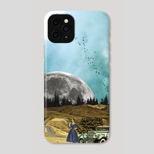 CARRETERA PERDIDA - Phone Case by Gloria Sánchez