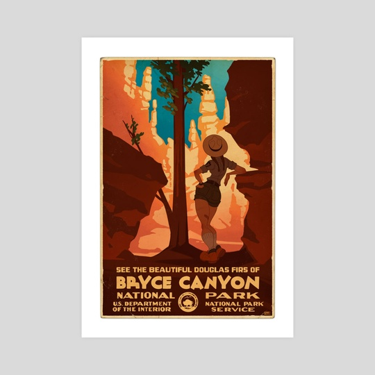 Bryce Canyon by Claire Hummel