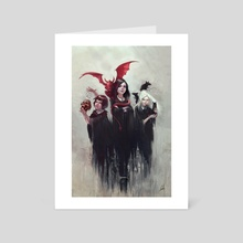 COVEN - Art Card by Michael Blank