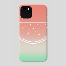 Watermelon - Phone Case by e Drawings38