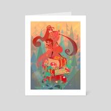 Mystery Twins - Art Card by Lukrecia