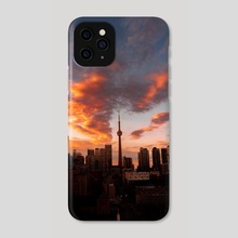 High as the clouds - Phone Case by Jahmal Nugent