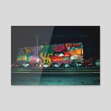 Art Block - Acrylic by Simone Moyet