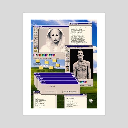 Die Antwoord Desktop by Samuel Stroud
