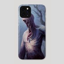 2-2 Black Zombie - Phone Case by Alison Johnstun