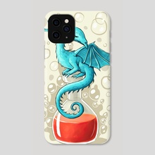 Dragon Potion - Phone Case by Indré Bankauskaité