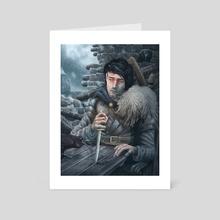 The Prince of Winterfell - Art Card by Gabriel Cassata