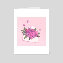 To You in Full Blossom - Art Card by Nekomori Art