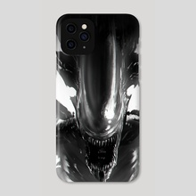 Alien - Phone Case by Jose Ochoa
